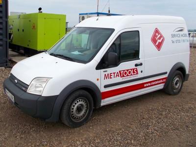 Autoutilitară service mobil Metatools