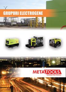 Broșura generatoare de curent electric Metatools
