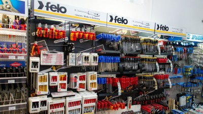 Stand FELO în showroom Metatools