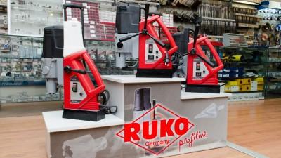 Echipamente RUKO în showroom Metatools