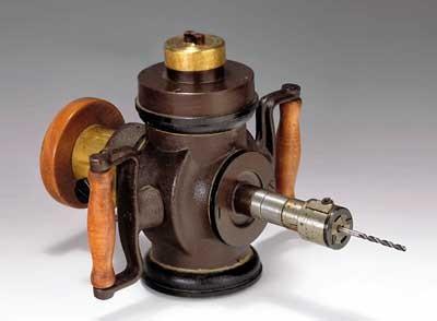 Prima mașină de găurit electrică