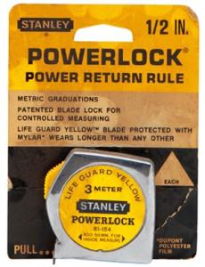 Prima ruletă Stanley cu sistem Powerlock