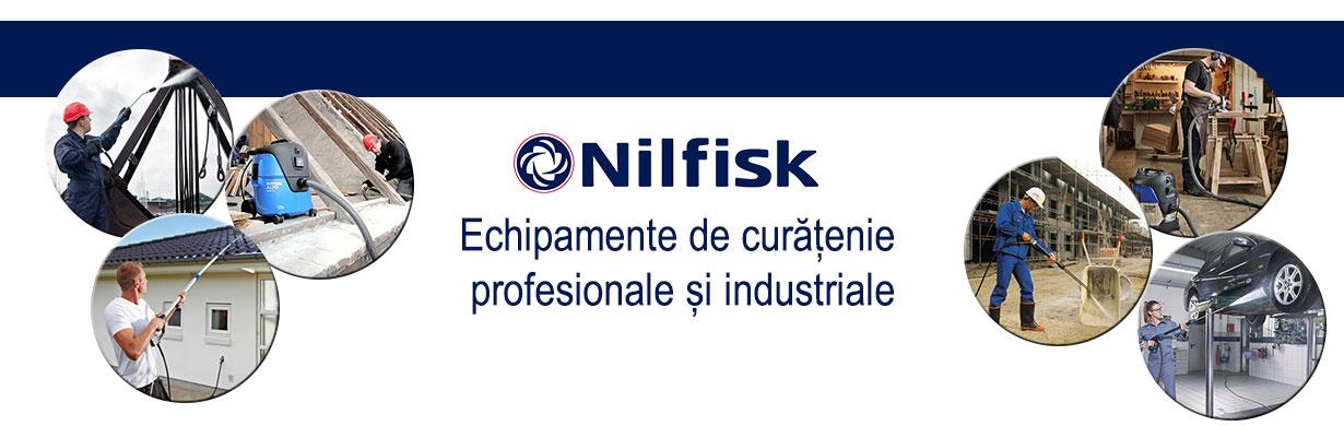 Nilfisk echipamente profesionale pentru curățenie