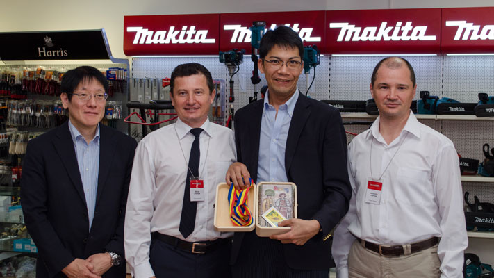 Delegația Makita în vizită la sediul companiei Metatools