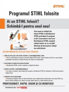 Programul STIHL folosite