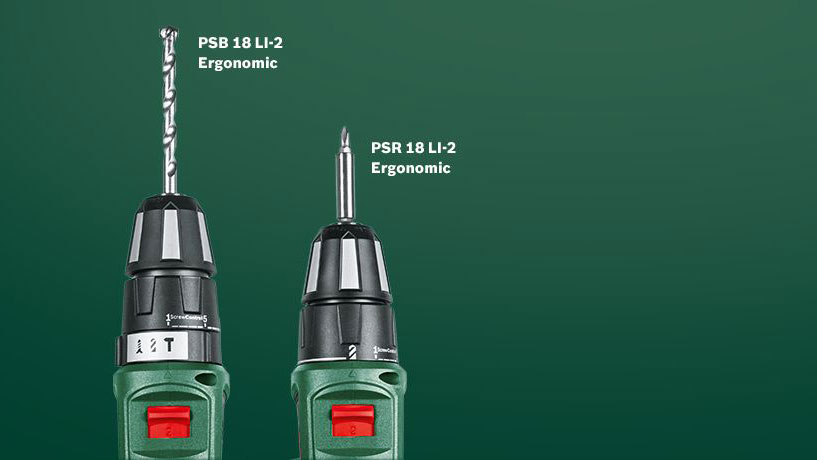 Bosch PSR PSB Ergonomic