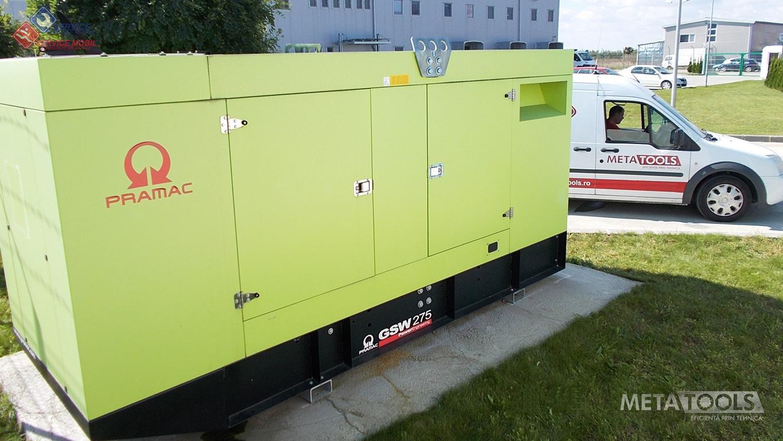 sistem monitorizare generator electric