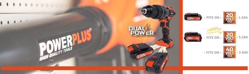 Dual Power - 20V & 40V