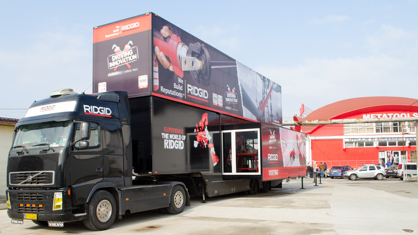 "2015 – ""Ridgid Innovation Roadshow"""
