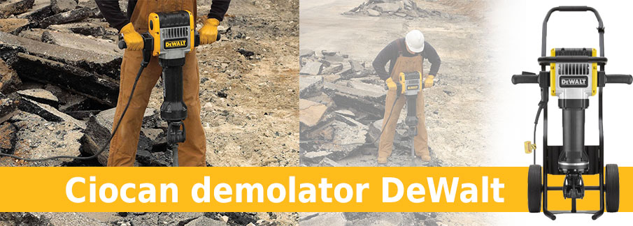 Ciocan demolator DeWalt D25981K – Demolition Breaker