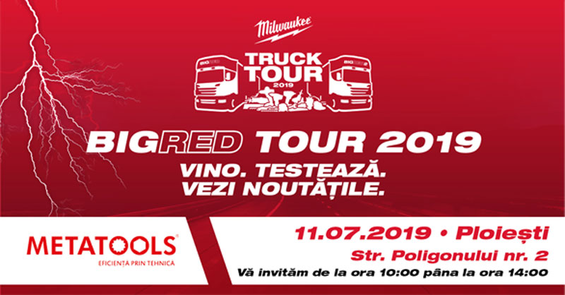 Eveniment BIG RED TOUR – 11 Iulie