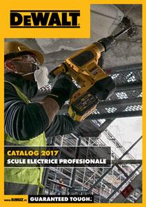 Catalaog - DeWALT - Scule electrice profesionale - 2017-2018