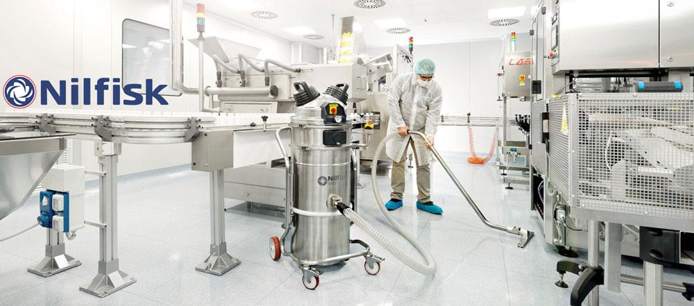 Nilfisk – Aspiratoare Industriale (aplicații și specificații tehnice)