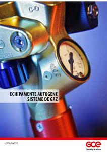 GCE - Catalog - Echipamente Autogene - Sisteme de gaz - 2016